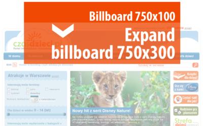Expand billboard