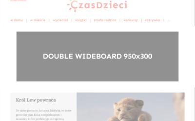 Double Wideboard